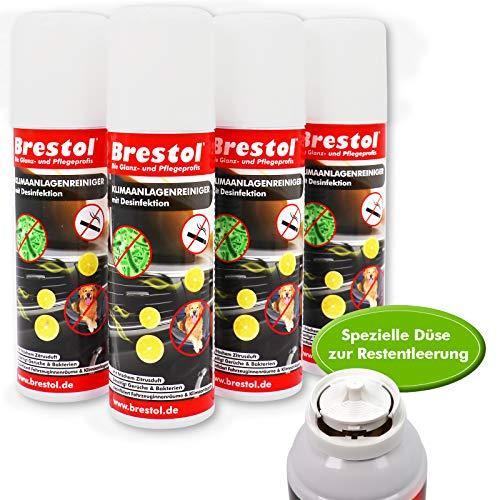 Klimaanlagenreiniger 4X 200 ml - Klimareiniger Klimadesinfektion Klima Reiniger Desinfektion Air Fresh Spray Lufterfrischer
