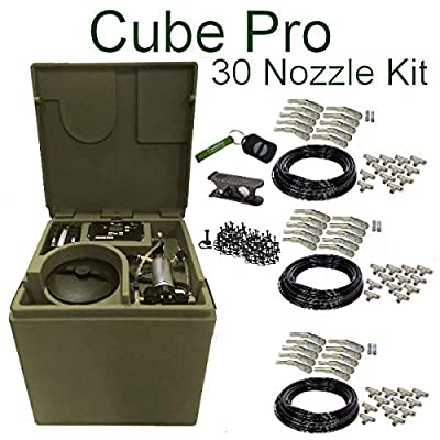 Pynamite Cube PRO Mosquito Misting System, Small 26 inch Cube Still 55 gallons with 30 Nozzle Kit