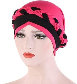 ACVIP Women's Braided Head Scarf Hairwrap Turban Headwrap