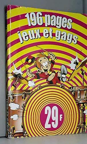 Spirou magazine, Hiver 2000 : Jeux et gags