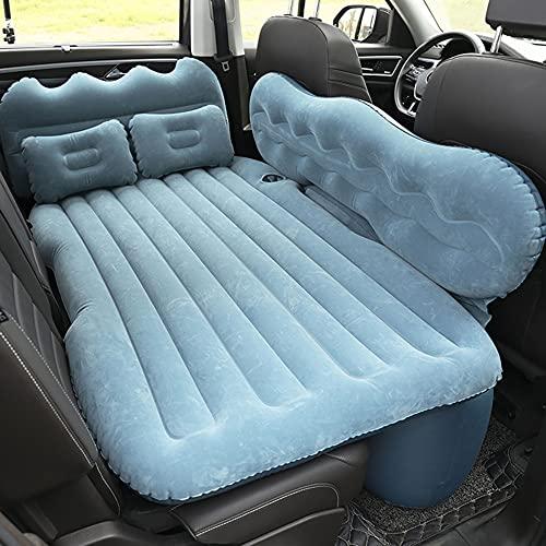 ZHPNG Cama Inflable del Coche,Multifuncional Hinchable Impermeable Portable Adjustable Colchón para Coche Y Sofá Al Aire Libre,Blue