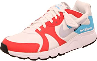 Nike Atsuma Women's Shoes, White (White/Sky Grey-Track Red-Blue Fury), 39 EU