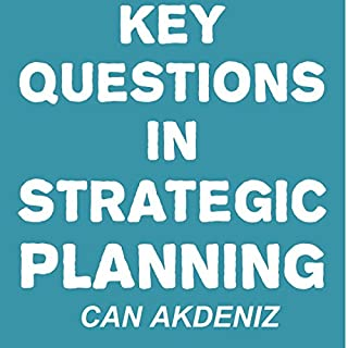 Key Questions in Strategic Planning audiobook cover art