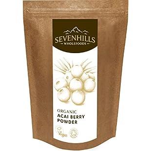 Sevenhills Wholefoods Organic Raw Acai Berry Powder 100g:Interoot
