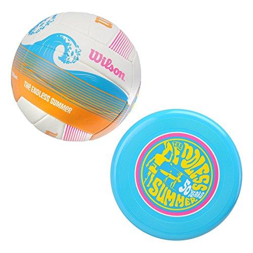 Wilson Endless - Balón de voleibol, tamaño M, color blanco