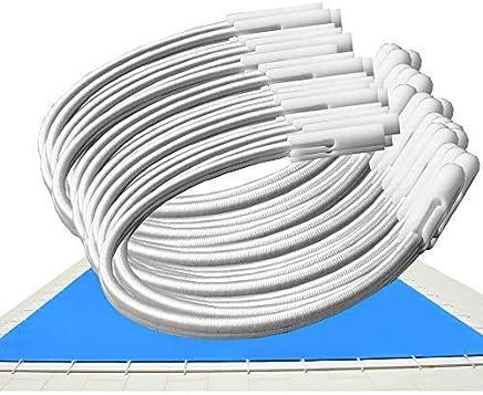 Invierno lona Ocho Forma Piscina de PEB con tensor ajustable y cuerda
