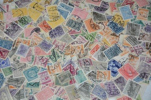 Goldhahn Österreich Vorkriegsfundgrube papierfrei Briefmarken für Sammler