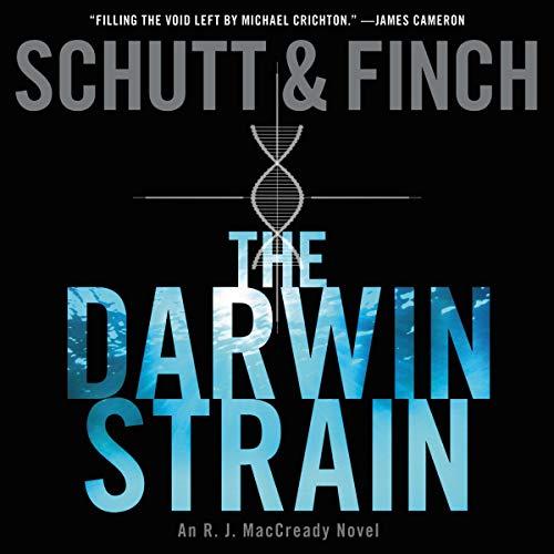 The Darwin Strain audiobook cover art