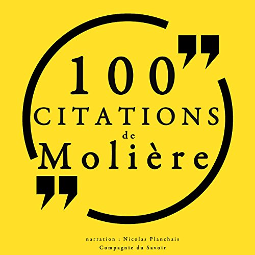 100 citations de Molière cover art