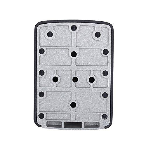 Ejoyous Caja de Seguridad para Llaves, Caja de Almacenamiento Segura para Llaves montada en la Pared Caja Fuerte para Llaves de aleación de Zinc para el hogar para la Familia