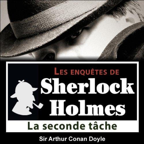Couverture de La seconde tâche (Les enquêtes de Sherlock Holmes 42)