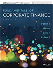 Best fundamentals of corporate finance parrino Reviews