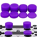 MXRC Thumb Grip Thumbstick Joystick Cap 4 Styles All 8 Units FPS Professional Sets Pack for PS2, PS3, PS4, Xbox 360,Controller Purple