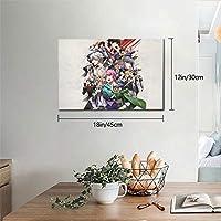 ヒプノシスマイク(1) ポスター アートパネル 北欧 装飾画 人気 インテリア モダン 玄関、リビングと寝室の飾り壁掛け ソファの背景 キャンバス絵画 30x45cm