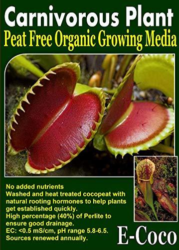Portal Cool 1 Litro: Pianta Carnivora Compost con Perlite, terriccio per Piante Carnivore