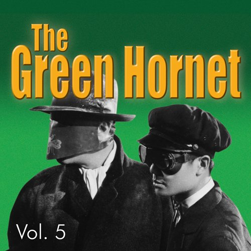 Green Hornet Vol. 5 audiobook cover art