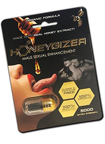 Organic HONEYGIZER All Natural Male Enhancement Pills (5)