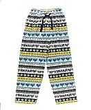 Lazy One Animal Pajama Pants for Men, Men's Separate Bottoms, Lounge Pants, Menorah, Dreidel, Holiday, Star of David (Hanukkah, Medium)