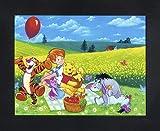 Disney 600012 3D-Linsenraster-Poster, gerahmt, fertig zum