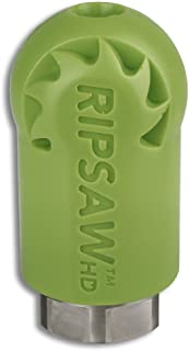"Hydra-Flex, Inc. Ripsaw HD Rotating Turbo Nozzle, 3200 PSI, 18 Degree, 1/2"" FNPT Inlet (12.0)"