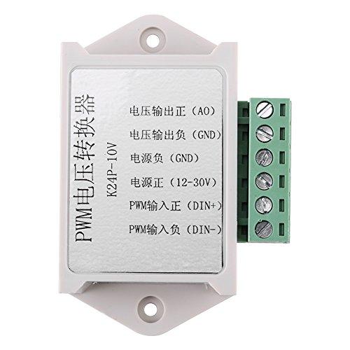 PWM-Signalwandler-Modul Digital-Analog-Spannungswandler-Adapter Weiß