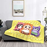 Himouto! Umaru-Chan Blanket Super Soft and Light Fluffy Air Conditioning Blanket Cooling Blanket Four Season Blanket Towel Blanket 60 X 50 Inches