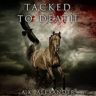Tacked to Death      The Michaela Bancroft Suspense Series, Book 3              By:                                                                                                                                 A. K. Alexander                               Narrated by:                                                                                                                                 Suehyla El Attar                      Length: 6 hrs and 41 mins     19 ratings     Overall 4.3