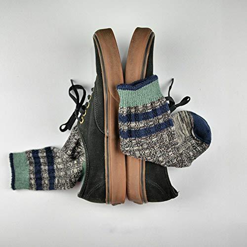 Preisvergleich Produktbild Watte Herrensocken einfache Wild Tube Socken rote Flügel Werkzeugstiefel Socken 3 Paar