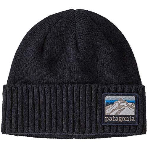 Patagonia Erwachsene Mütze Brodeo Beanie Einheitsgröße Blau (Line Logo Ridge/Classic Navy)