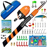 Best Fishing Pole For Kids - PLUSINNO Kids Fishing Pole, Portable Telescopic Fishing Rod Review