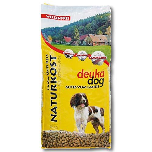 Deuka Dog Naturkost 15 kg Hundefutter Lamm und Reis Anschlussfutter Glutenfrei