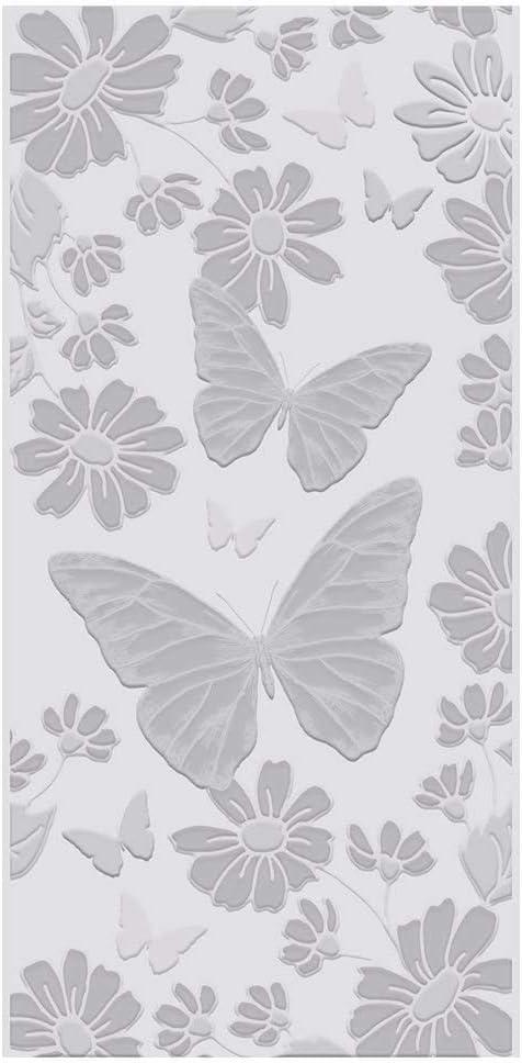 Gemini Planche de gaufrage 3D 14 x 7 cm Papillons paradis