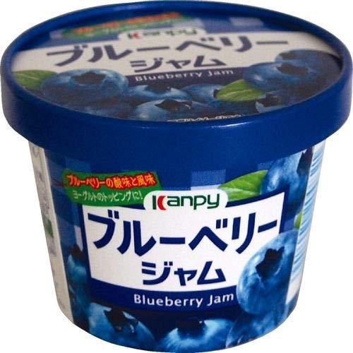 カンピー 紙カップ ブルーベリージャム 140g×6個入×(2ケース)