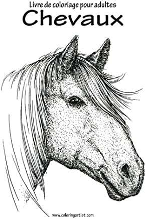 Coloriage Cheval Zen.Amazon Fr Coloriage Chevaux
