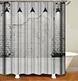 Badezimmer Duschvorh?Nge Pfirsichblüte Duschvorhang Waschbar Anti-Schimmel Wasserabweisend Showercurtain 180*180Cm Top Qualität Wasserdicht, Anti-Schimmel-Effekt 3D Digitaldruck Inkl. 12 Duschvor
