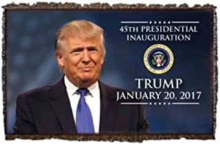 VictoryStore Blanket - 2017 Presidential Inauguration, Donald Trump Throw Blanket