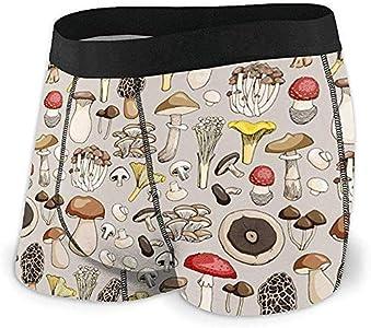 Web--ster Ropa Interior Transpirable para Hombre Seta Vegetal Calzoncillos Boxer cómodos Talla XL