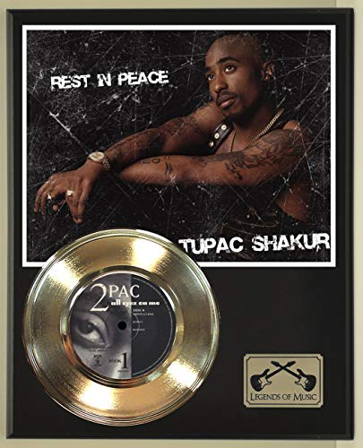 2 Pac All Eyez On Me Record Display Wood Plaque