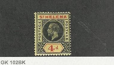 St. Helena, Postage Stamp, 71 Mint Hinged, 1912