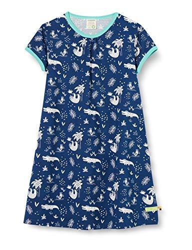 loud + proud baby-meisjes jurk Allover Print Organic Cotton jurk