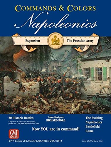 Commands and Colors: Napoleonics Expansion: The Prussian Army