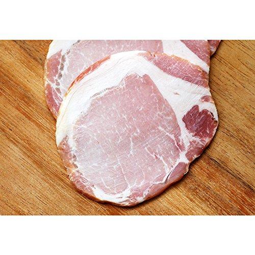 長期熟成布巻きロースハム(スライス)約1kg(約100g×10p) 冷凍