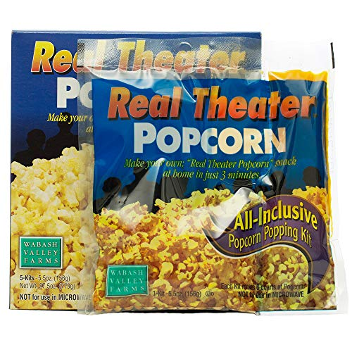 Affordable Wabash Valley Farms All Inclusive Popping Kits - Real Theater Popcorn - 5 Kit - 1 Pack