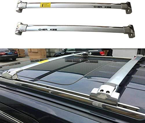 BUSUANZI Conjunto de Barras transversales para Techo de Coche Apto para Jeep Grand Cherokee 2011-2020, baranda de Aluminio para Equipaje, Accesorios de Viaje