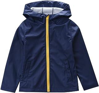 M2C Boys Girls Hooded Waterproof Rain Jacket Lightweight Raincoat 7/8 Navy