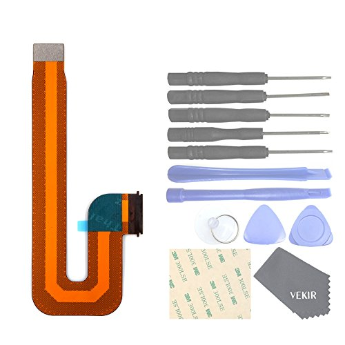 VEKIR Display Flex Cable Compatible con Huawei MediaPad T3 10 AGS-L09 AGS-L03 AGS-W09[Flex Cable Only][10 Inch]