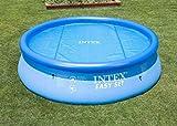 Pool Wärmefolie / Luftpolsterfolie / Solarfolie für Swimming Pool und Whirlpool - 305 cm Intex 59952