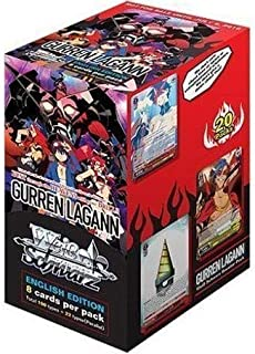 Weiss Schwarz En Gurren Lagann Booster Box English