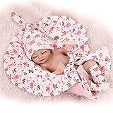 Reborn Dolls Reborn Baby Dolls 27cm Reborn Baby Doll Silicona Vinilo Cuerpo completo Impermeable Muñeca recién nacida Mini tamaño de la palma Realista Juguetes para niños de 11 pulgadas, Niña Niños Ie