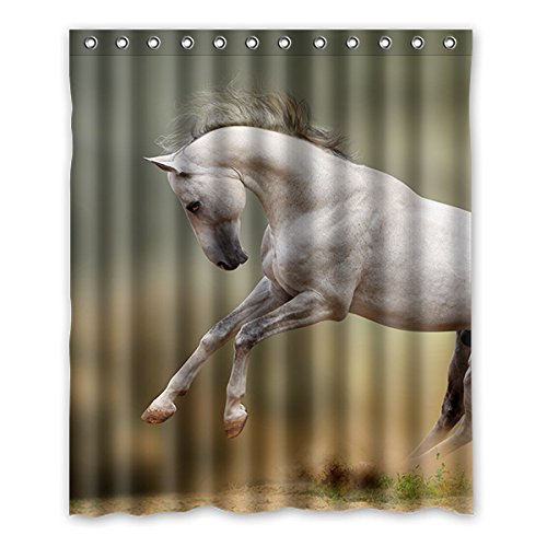 Once Young Entzückende Baby Pferd Wasserdicht & Mehltau Proof Polyester Duschvorhang Badezimmer Dekorative 60